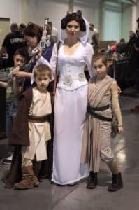 Rodzinny Pyrkon, Pyrkon 2016, cosplay księżniczka Leia