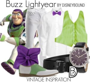 DisneyBound Buzz Astral Toy Story