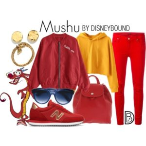 DisneyBound Mushu Mulan Disney