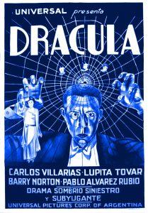 """Plakat promujący hiszpańską wersję """"Draculi"""""""
