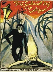 "Plakat promujący ""Gabinet doktora Caligari"""