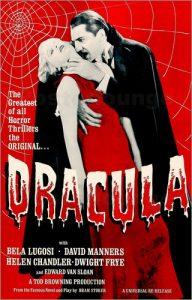 """Plakat """"Księcia Draculi"""" z Belą Lugosim"""