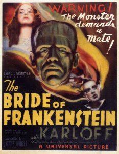"""Poster promujący kontynuację """"Frankensteina"""""""