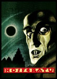 """Nosferatu - symfonia grozy"" - plakat"