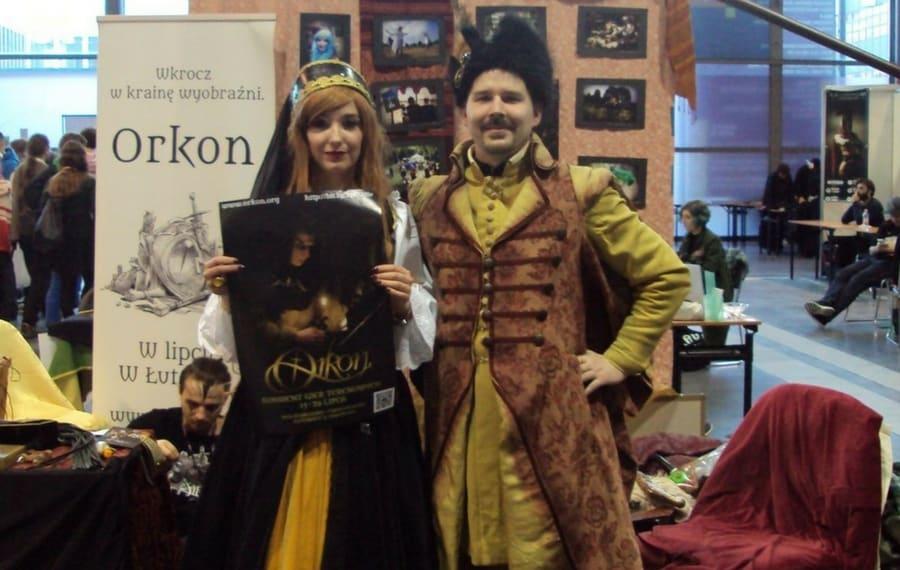 orkon, pyrkon, strefa fantastycznych inicjatyw, inicjatywy, konwenty, fantasy polska, żupan, szlachta, Fantastic Initiatives Zone