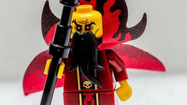 LEGO, evil wizard, zły czarnoksiężnik, zły lord, figurka, Dennis Amith, pyrkon