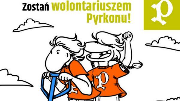 zostań wolontariuszem Pyrkonu