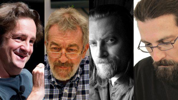 Étienne Willem Jeff Smith, Bédu, Tony Harris, blok komiksowy, Pyrkon 2018