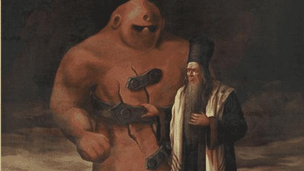 Golem, rabin Becalel