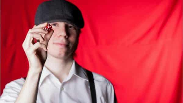 Adam Kwapiński, pyrkon, pyrkon 2018, planszówki, blok gier bez prądu, kostka, czerwona kostka, twórcy gier