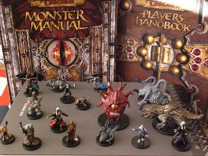 D&D, monster manual, pyrkon, minifigures, player's handbook, Jack Black's Stunt Double