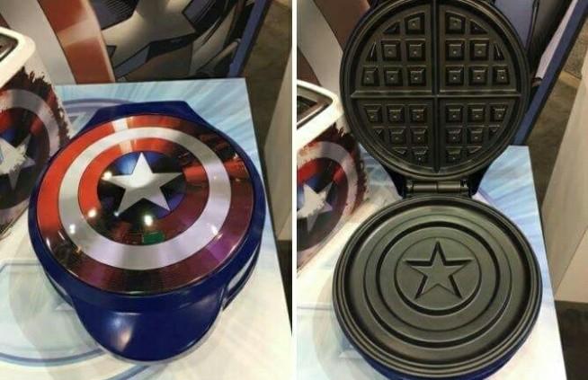 kapitan ameryka tarcza gadżet superbohater