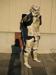prawdziwe gwiezdne wojny, star wars, gwiezdne wony, stormtrooper, szturmowiec, pyrkon, fantasium creatium