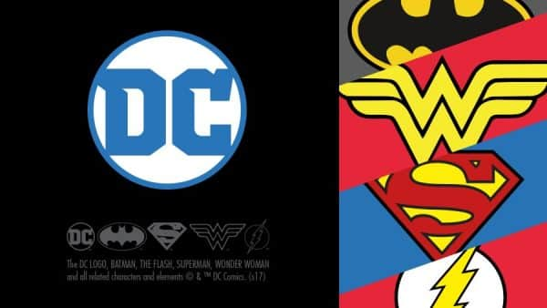 dc comics logo batman wonder woman flash superman