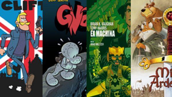 clifton, gnat, ex machina, miecz ardeńczyka, komiksy, pyrkon, premiery, fantastyka, fantastyczne premiery komiksów