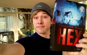 Thomas Olde Heuvelt, hex, literatura, pyrkon, prelegent zapraszany, blok literacki, pisarz, duński pisarz