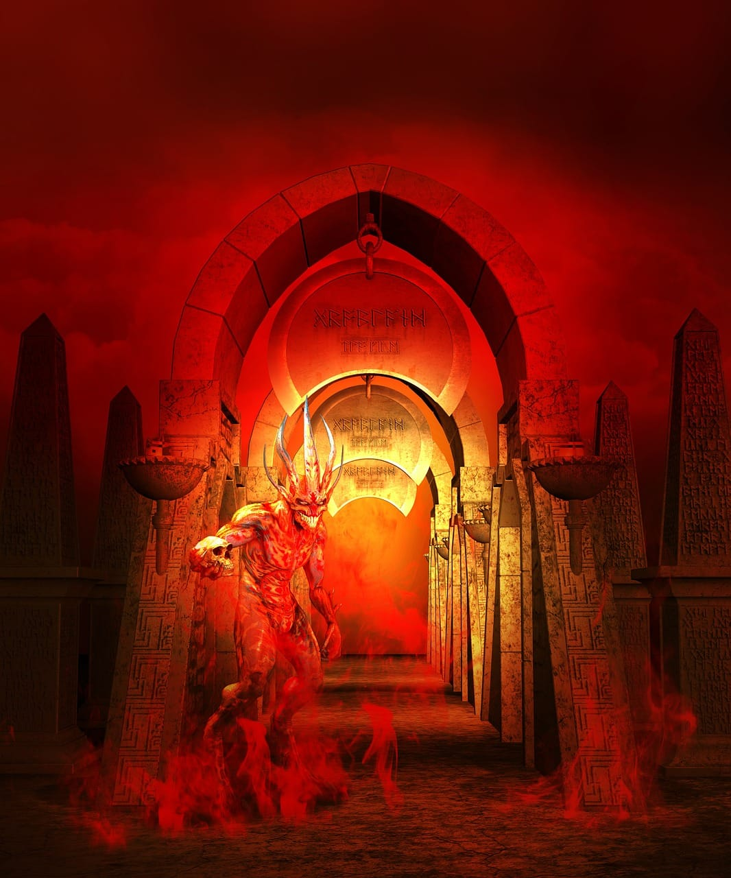 diabeł w Tumie