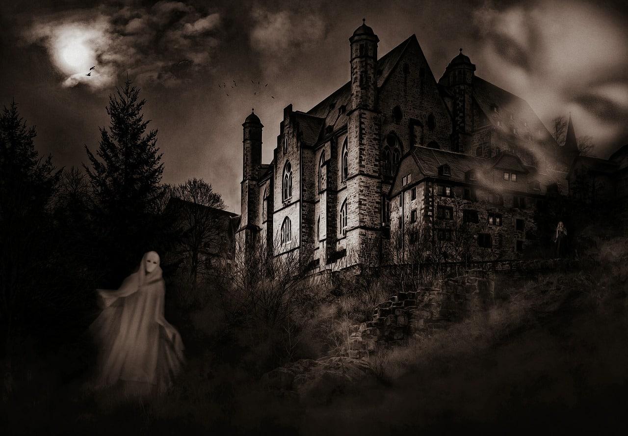 nawiedzony zamek