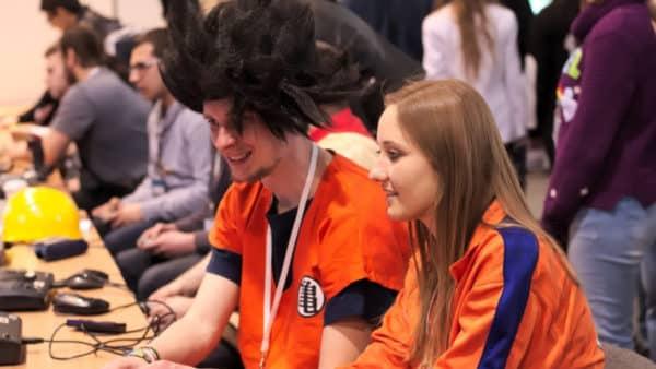 Gaming, cosplay dragon ball, Pyrkon, Poznań, Festiwal Fantastyki