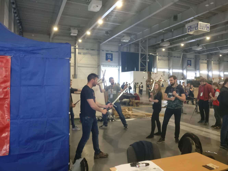 Dawne Europejskie Sztuki Walki, Fantasium Suburbium, Festiwal Fantastyki Pyrkon, Pyrkon 2019