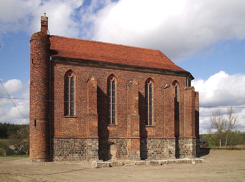Kaplica w Chwarszczanach
