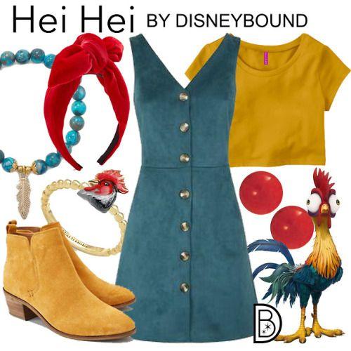 Hei Hei, Vaiana, Disneybound, Pyrkon