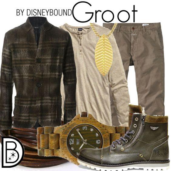 Groot, Strażnicy Galaktyki, Pyrkon, Disneybound