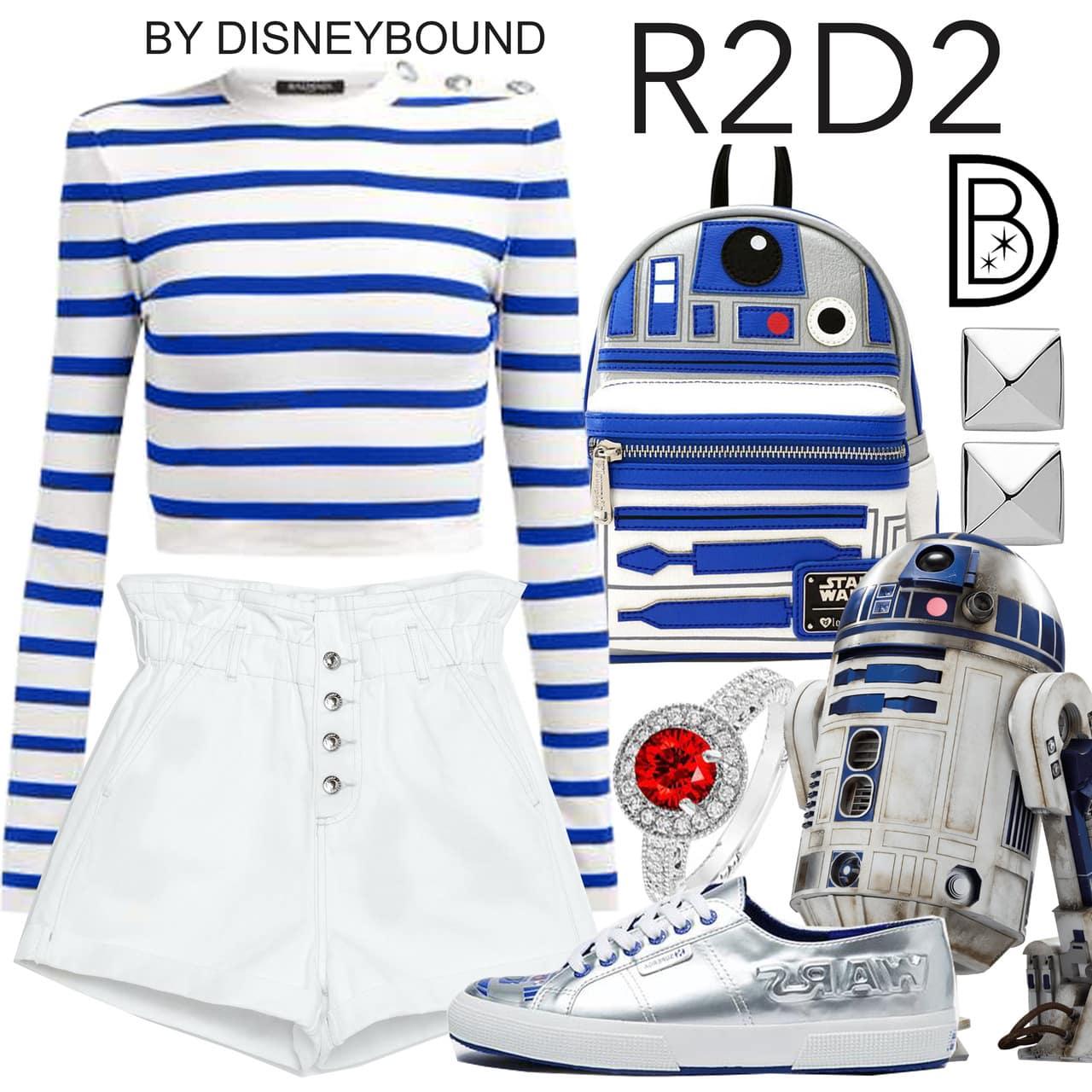 R2D2 Star Wars Pyrkon Disneybound