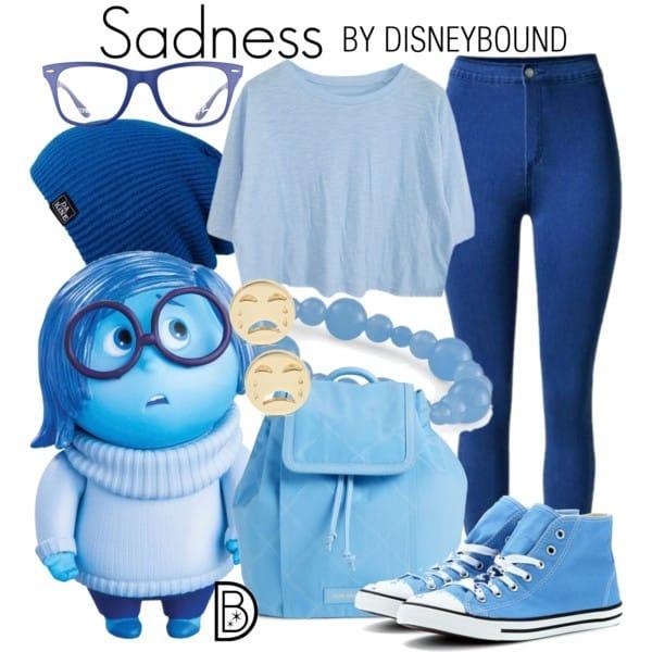 Sadness Disneybound