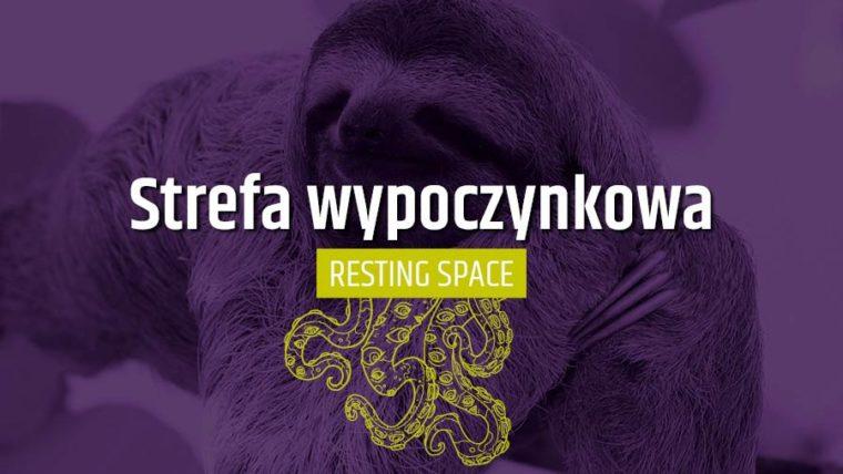 strefa wypoczynkowa pyrkon resting space