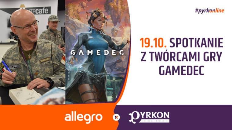 Gamedeck, PyrkONline, Pyrkonline, Pyrkon online, Pyrkon 2020, Przybyłek