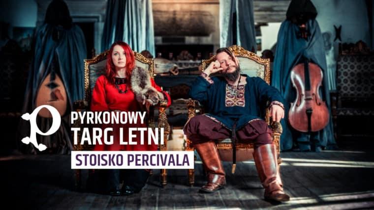 Hej, łowco potworów, zobacz jaką jeszcze fantastyczną rzecz dla Ciebie przygotowaliśmy! Zespół Percival ponownie zagości na Poznańskich Targach, tym razem wraz ze swoim wyjątkowym stoiskiem.